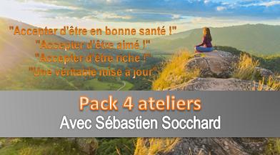 Pack 4 ateliers avec Sébastien Socchard