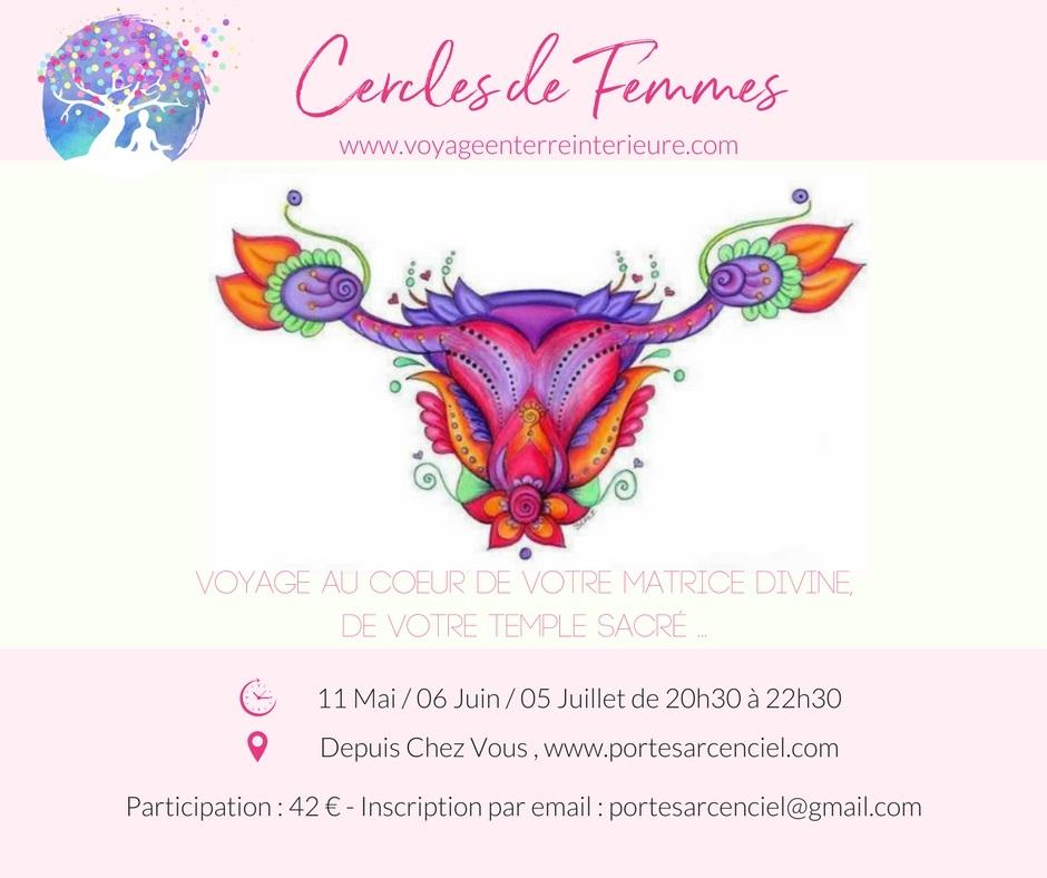 Visio-Ateliers : Cercles de Femmes - Voyage au Coeur de votre Matrice Divine
